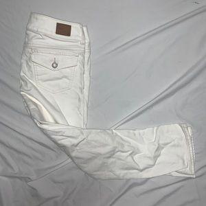 American Eagle AEO Women's White Artist Fit Jeans